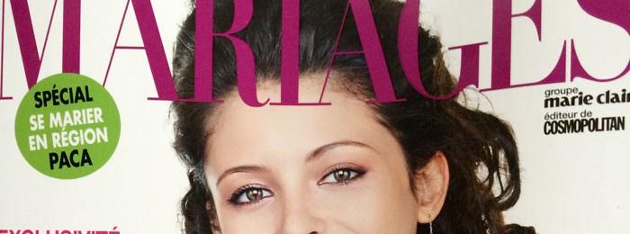 Mariage au Chateau Robernier – Magazine MARIAGE (édition Juin 2014)
