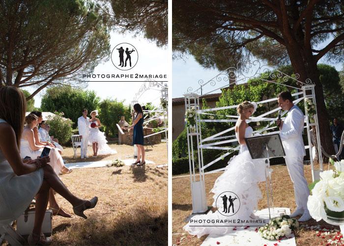 cérémonie mariage champêtre