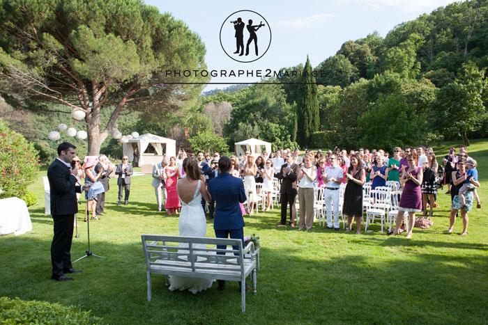 cérémonie mariage l'auberge adrets