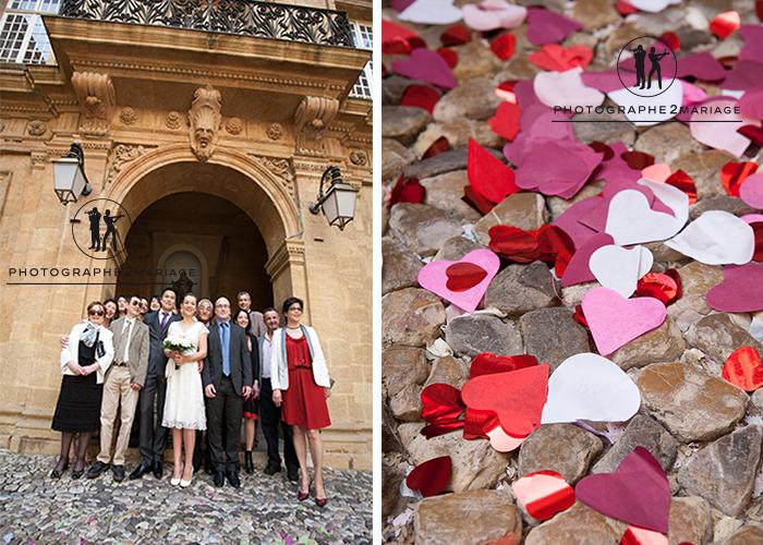 mariage Aix en Provence mairie