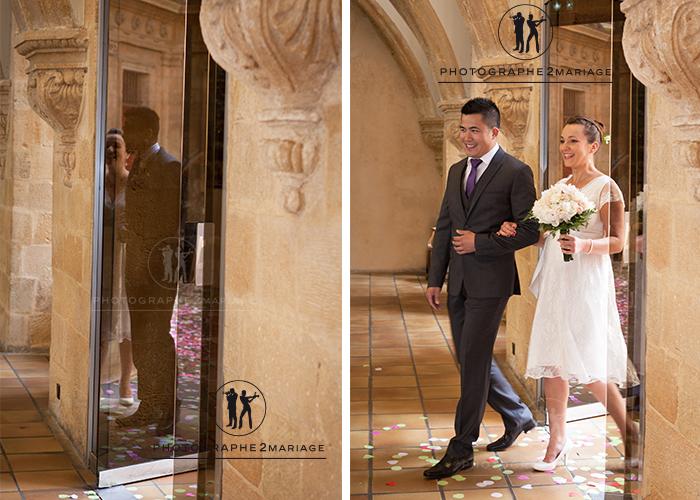 mariage mairie Aix en Provence