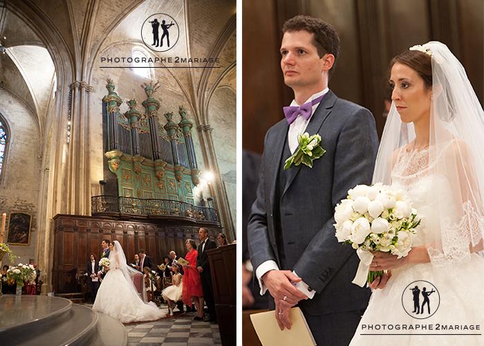 mariage cathédrale Aix en Provence