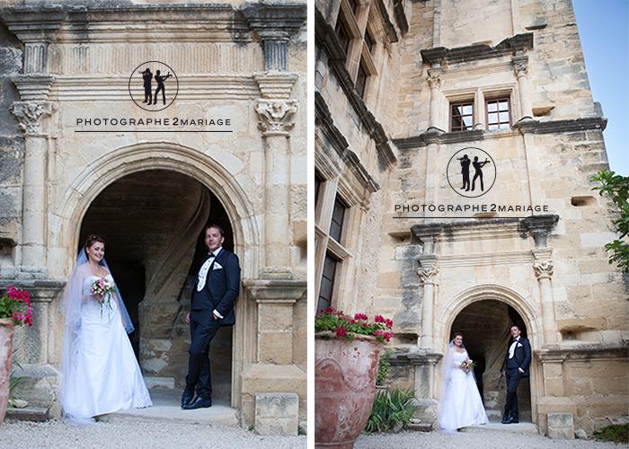 mariage Lourmarin chateau luberon
