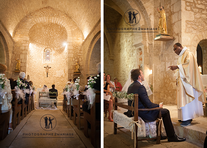 mariage eglise  saint barthelemy vaugines