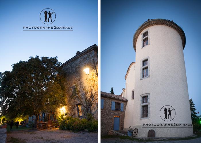 Château de Ventavon nuit