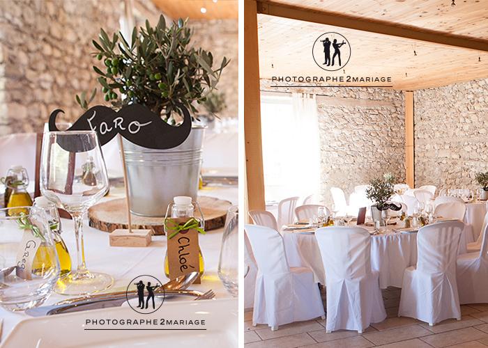 decoration mariage olivier