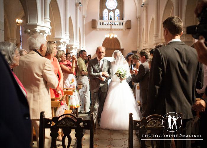 mariage à l'Eglise de Laragne