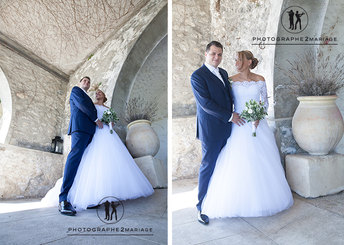 photos de couple Château de Ventavon