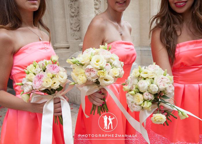 bouquet demoiselles d'honneur
