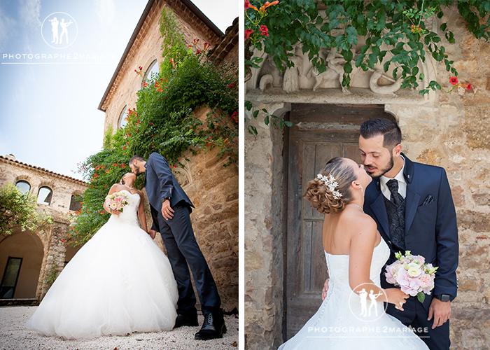 mariage cloitre sainte roseline chateau