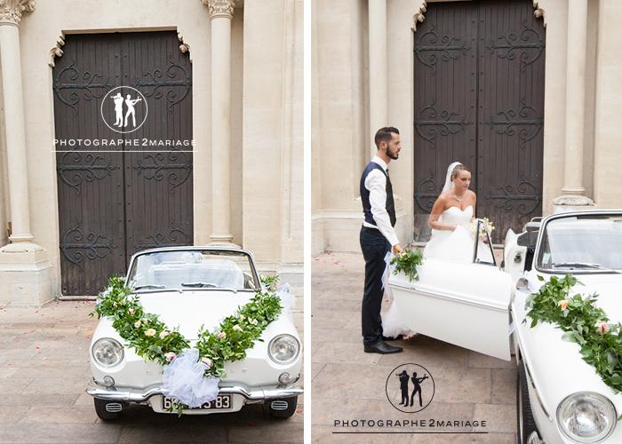 mariage voiture draguignan
