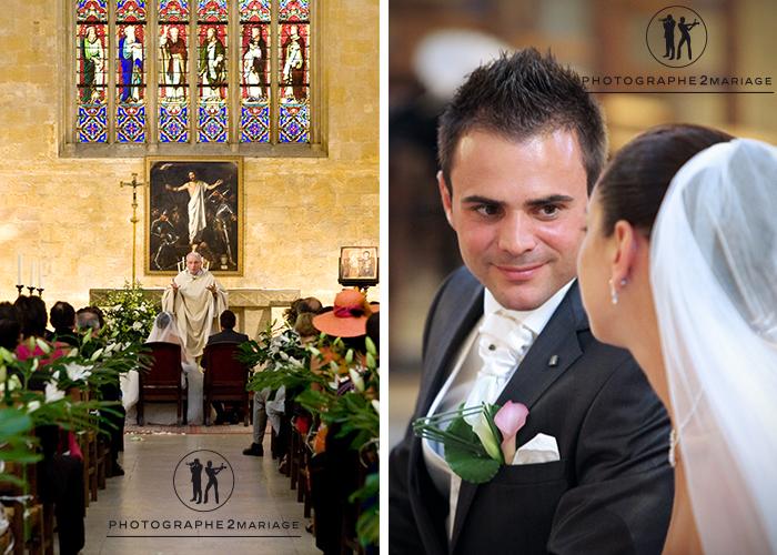 mariage eglise de Saint Jean de Malte Aix